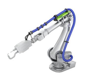 LEONI Schlauchpaket Industrieroboter